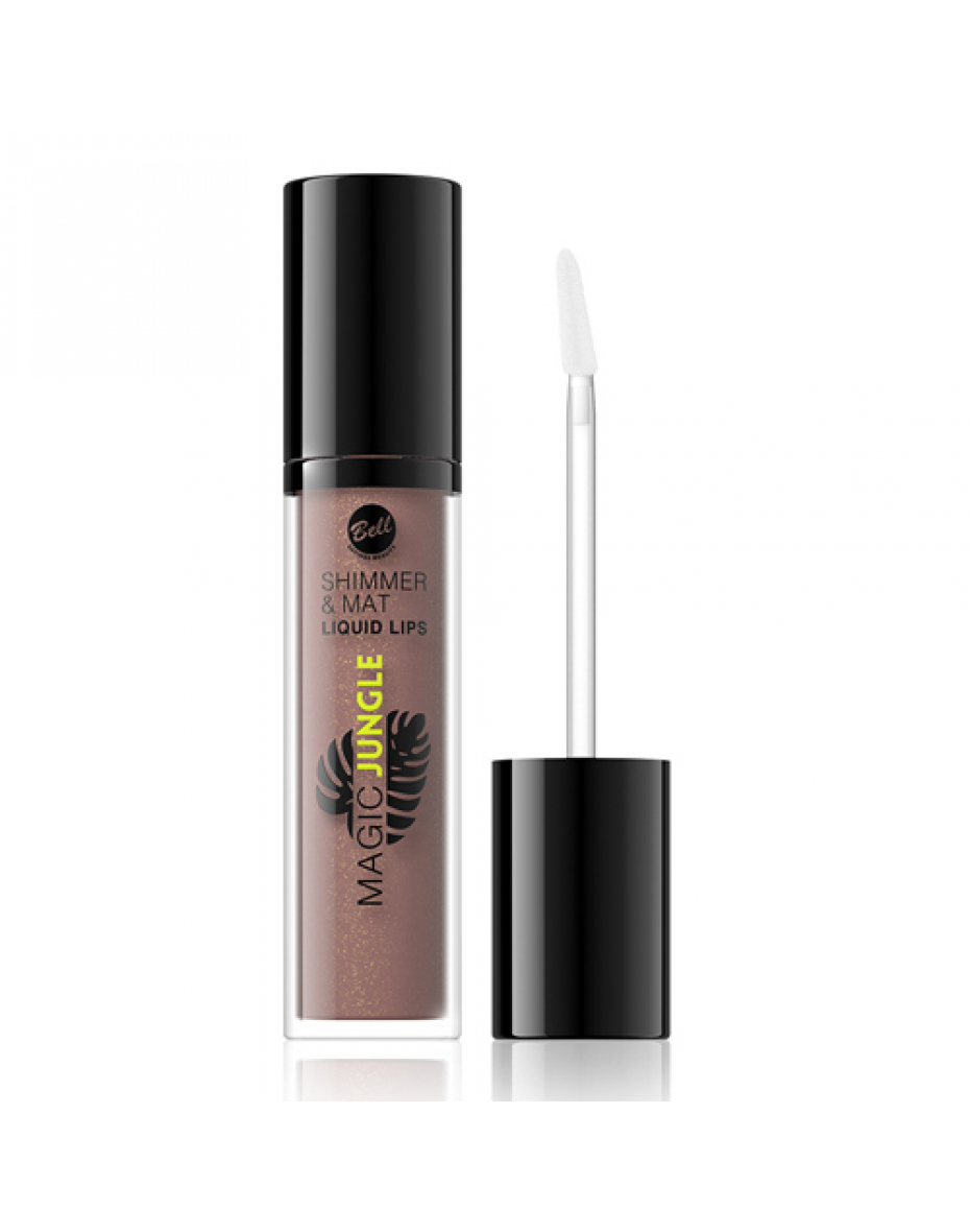 №01 Помада для губ жидкая Shimmer&Mat Bell
