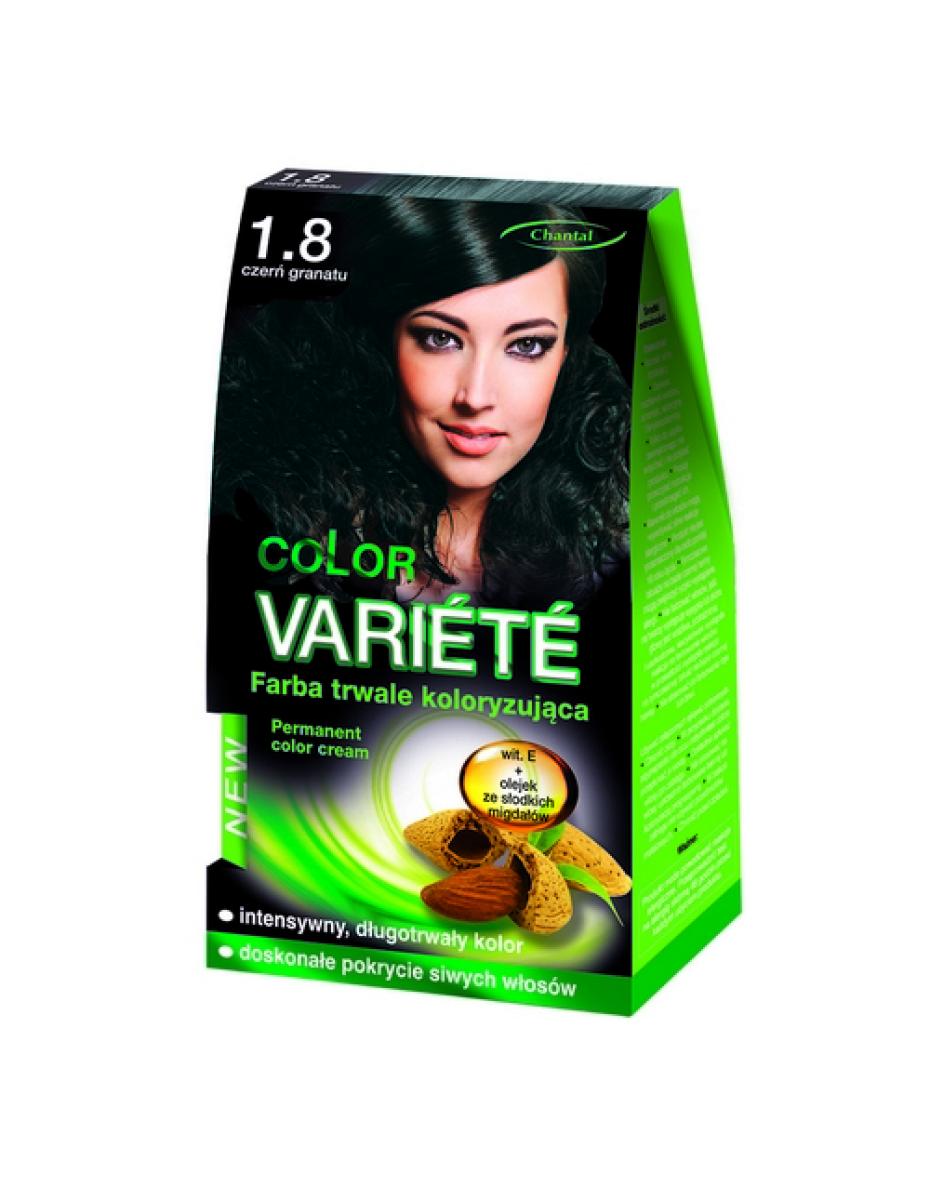Краска для волос 1.8 Сине-черный Variete