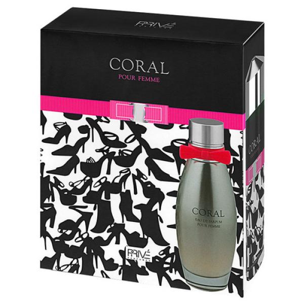 Coral Prive Parfums - парфюмерный набор женский