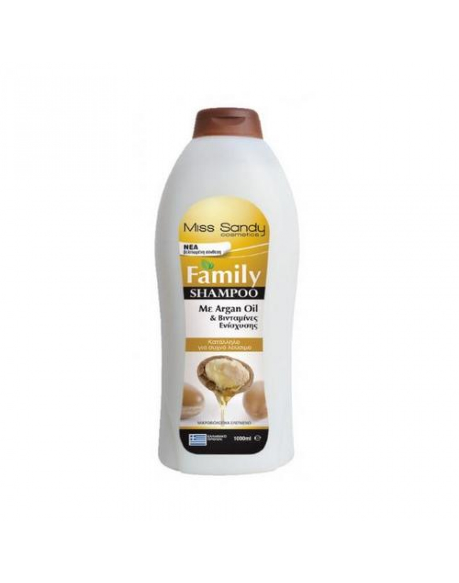 Шампунь с аргановым маслом 1л Miss Sandy