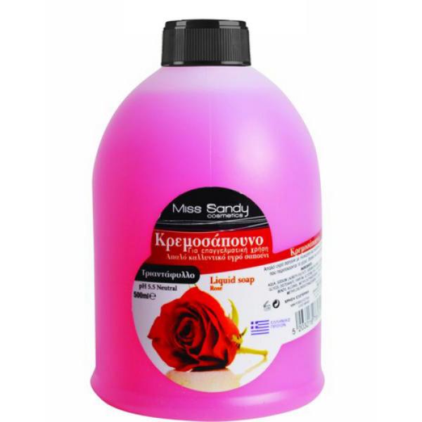 Жидкое мыло сменный блок роза 500мл Miss Sandy