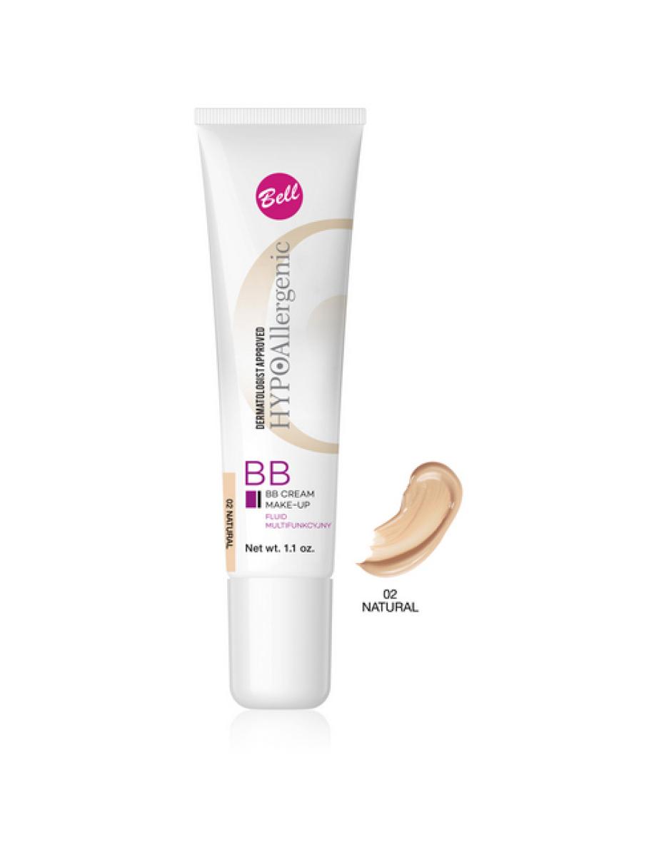 №02 Флюид BB Cream Hypo Allergenic 30г Bell