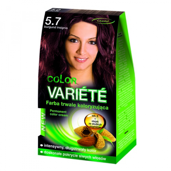 Краска для волос 5.7 Бургунд Variete