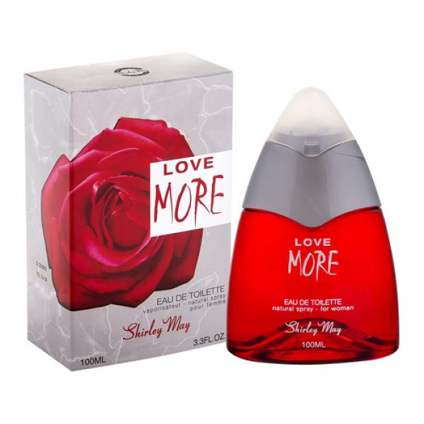 Love More 100мл т/в жен Shirley May