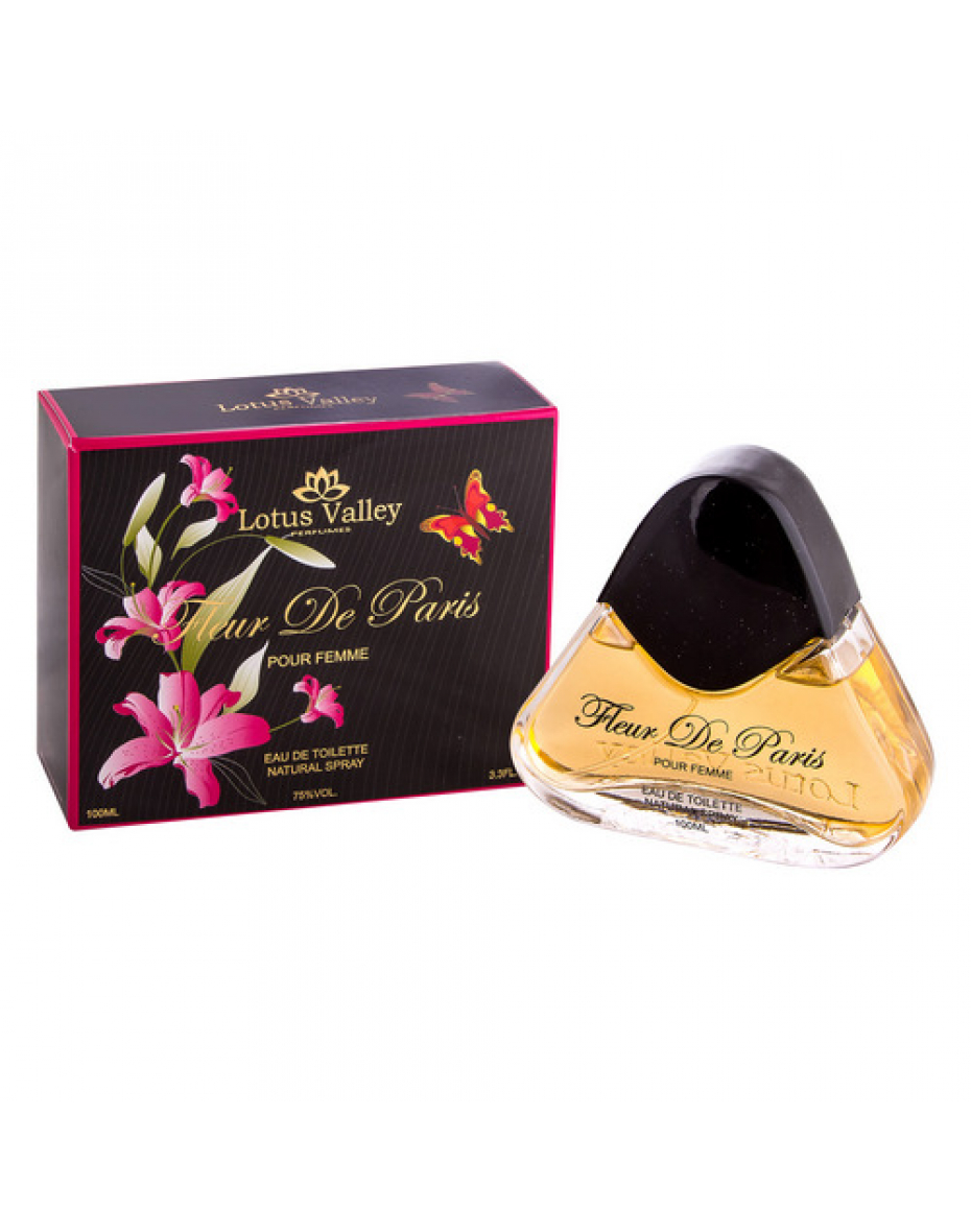 Fleur de Paris Lotus Valley - туалетна вода жіноча