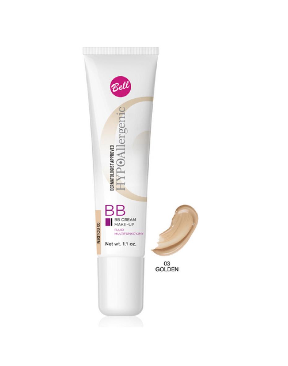 №03 Флюид BB Cream Hypo Allergenic 30г Bell