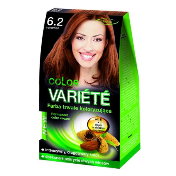 Краска для волос 6.2 Корица Variete