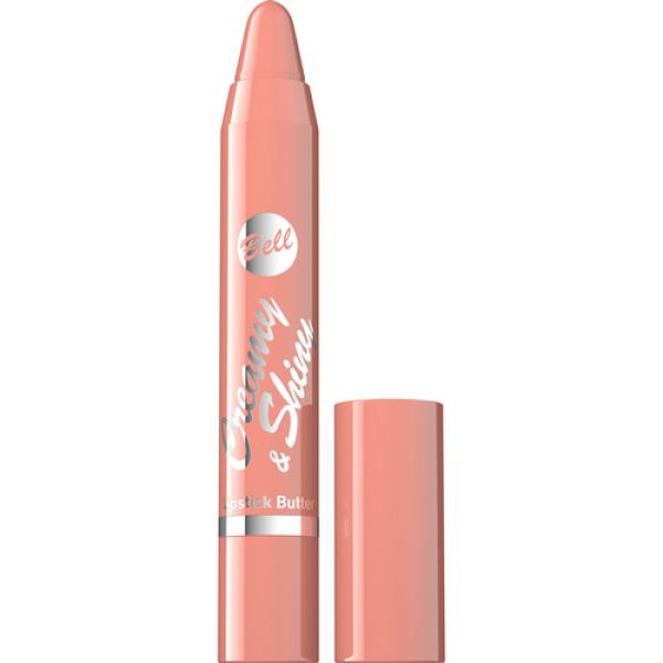 №01 Помада-карандаш Creamy&Shiny Lipstick Butter 3.3г Bell