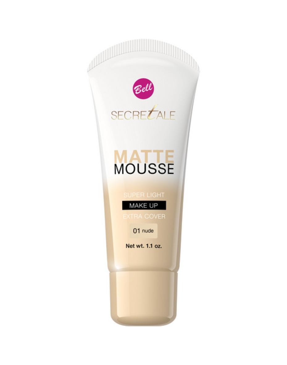№01 Флюид мус Mat Mousse Secretale 30г Bell