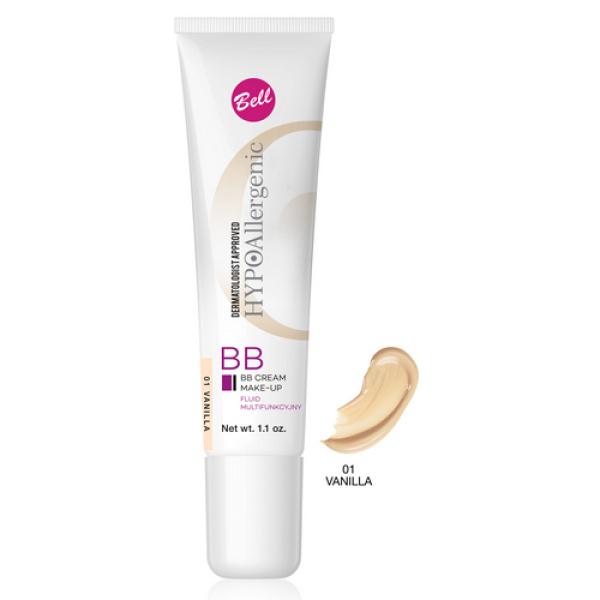 №01 Флюид BB Cream Hypo Allergenic 30г Bell