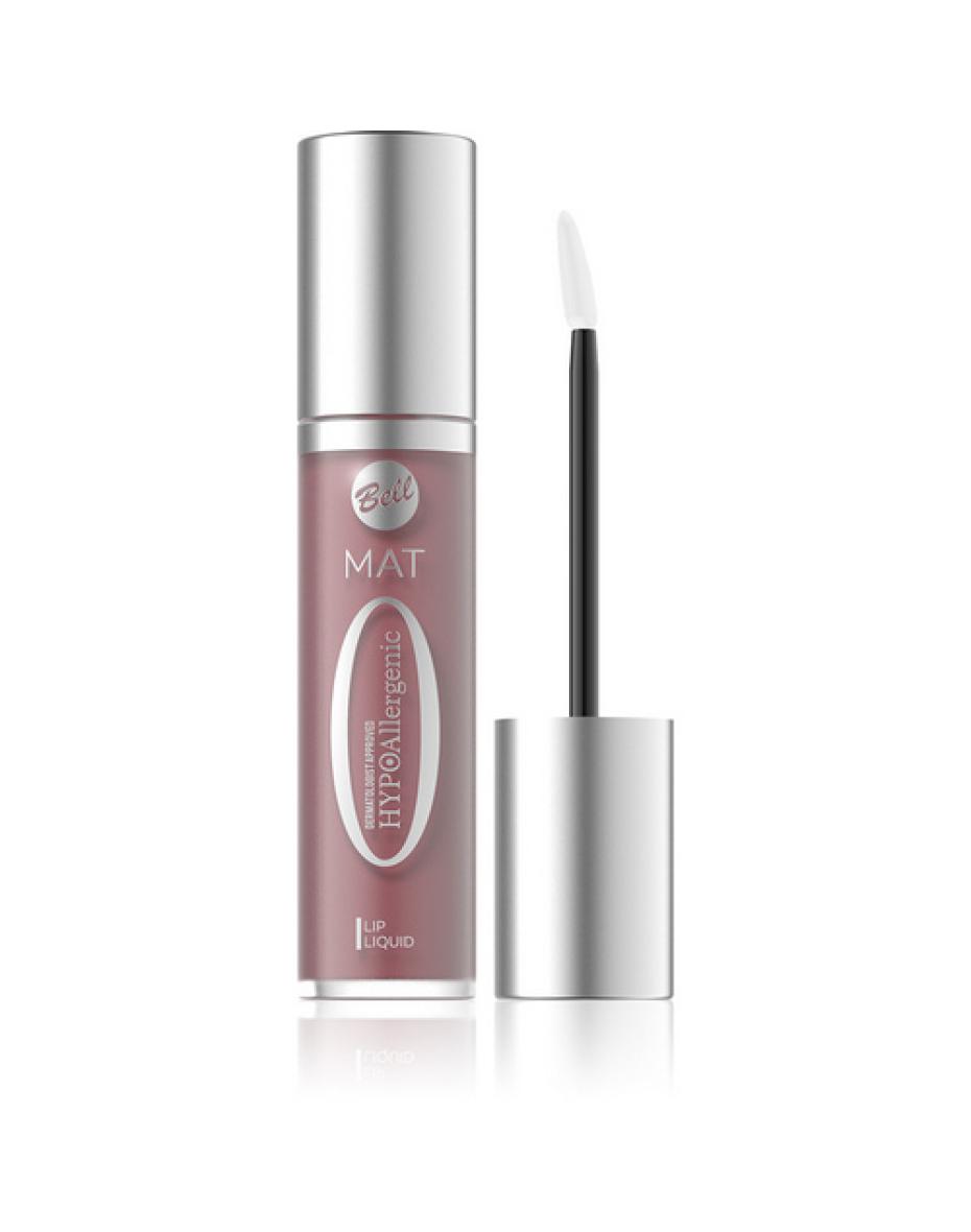 №02 Помада для губ матовая жидкая Hypo Allergenic 3.5г Bell