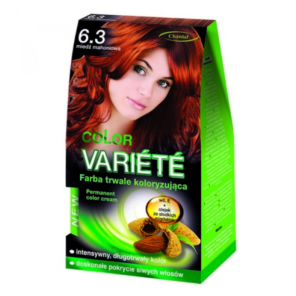Краска для волос 6.3 Медний махагон Variete