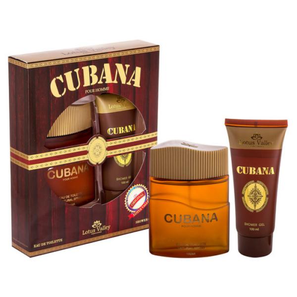 Cubana Lotus Valley - парфюмерный набор мужской