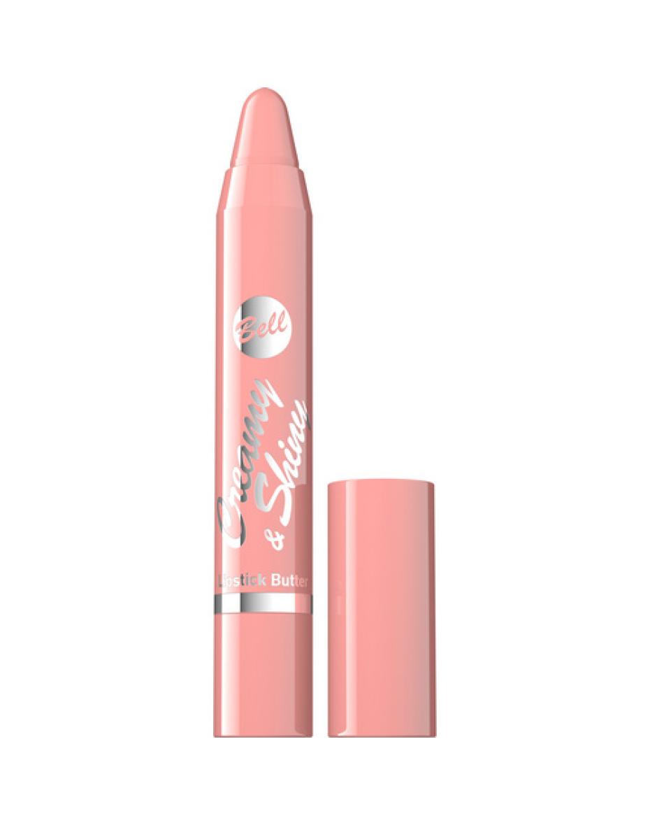 №02 Помада-карандаш Creamy&Shiny Lipstick Butter 3.3г Bell