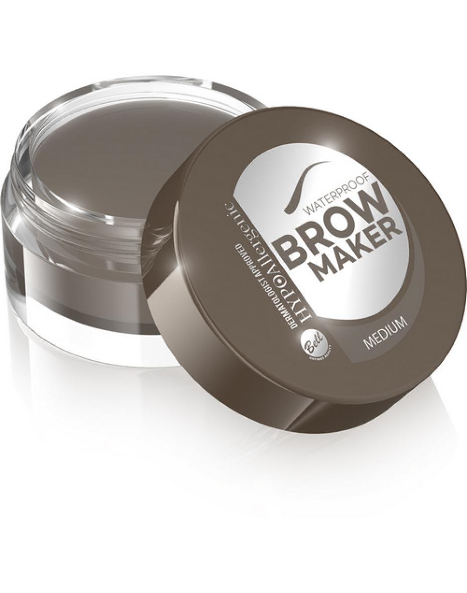 №02 Тени для бровей Brow Maker Hypo Allergenic 4.8г Bell