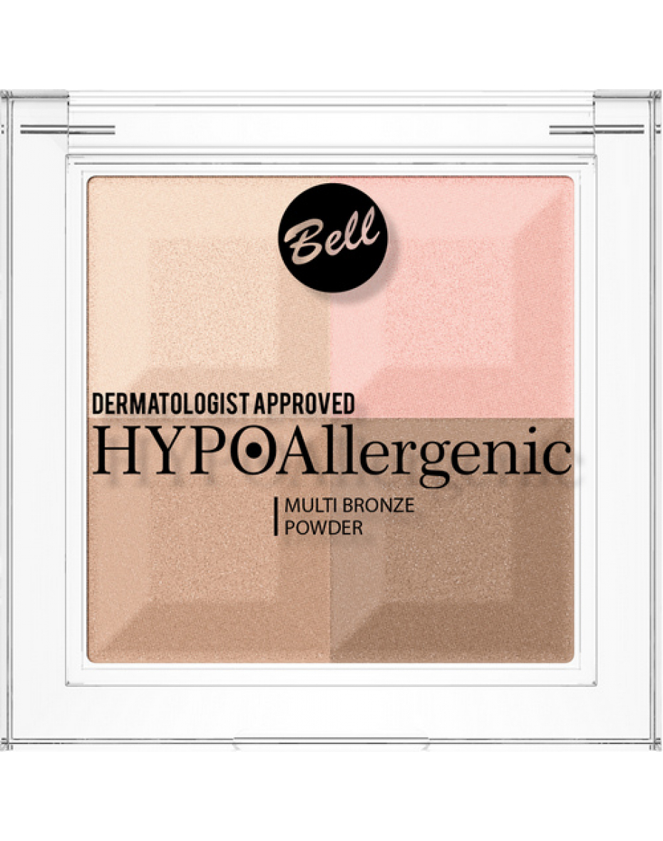 №02 Пудра Multi Bronze Hypo Allergenic Bell