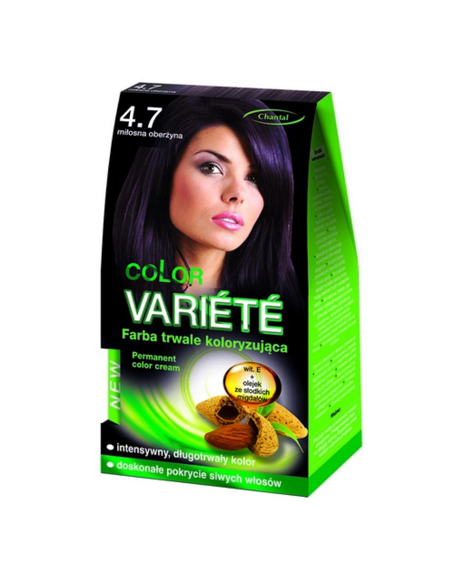 Краска для волос 4.7 Баклажан Variete