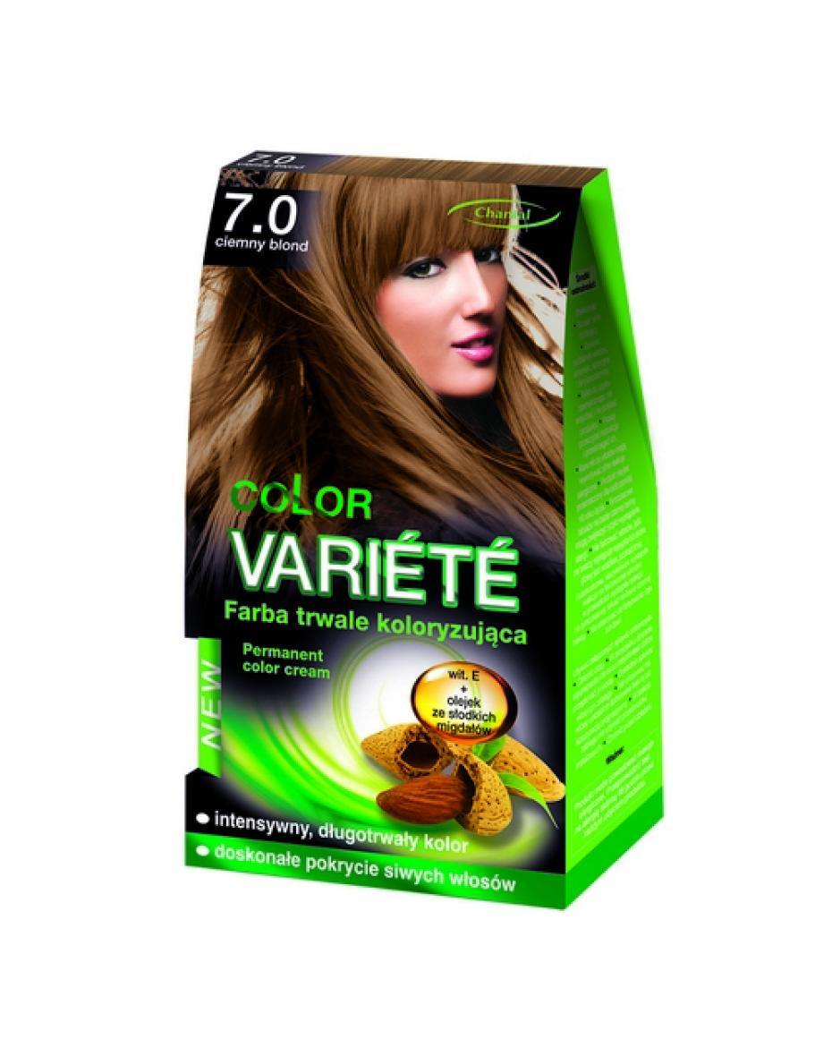 Краска для волос 7.0 Темный блондин Variete