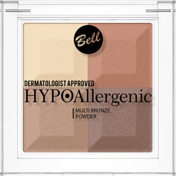№03 Пудра Multi Bronze Hypo Allergenic Bell
