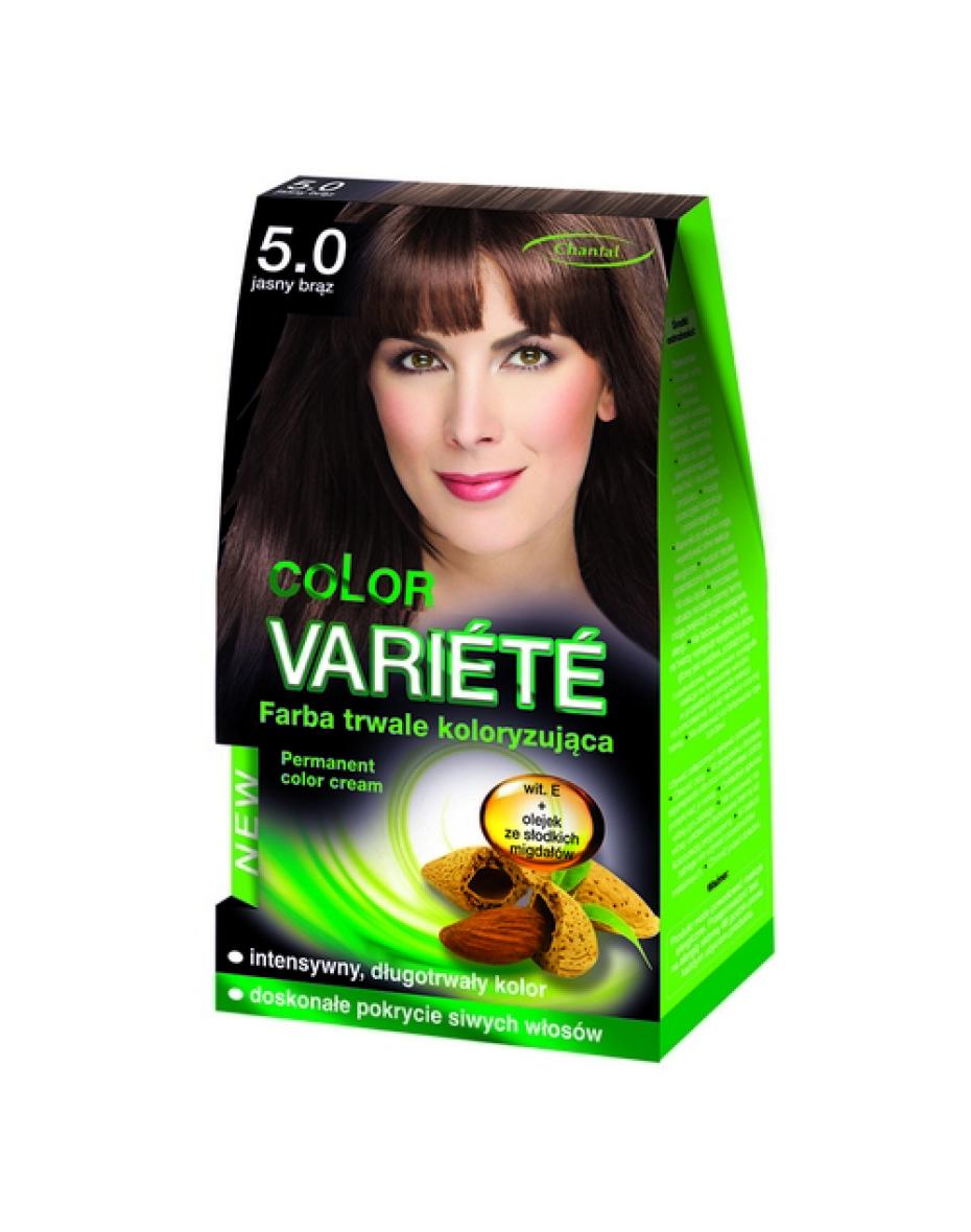 Краска для волос 5.0 Светло-коричневый Variete