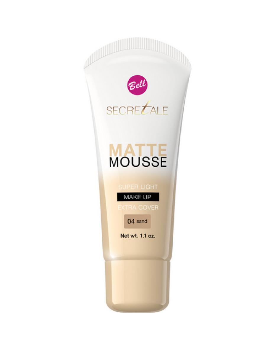 №04 Флюид мус Mat Mousse Secretale 30г Bell