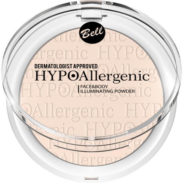 Пудра для лица и тела Hypo Allergenic 6г Bell