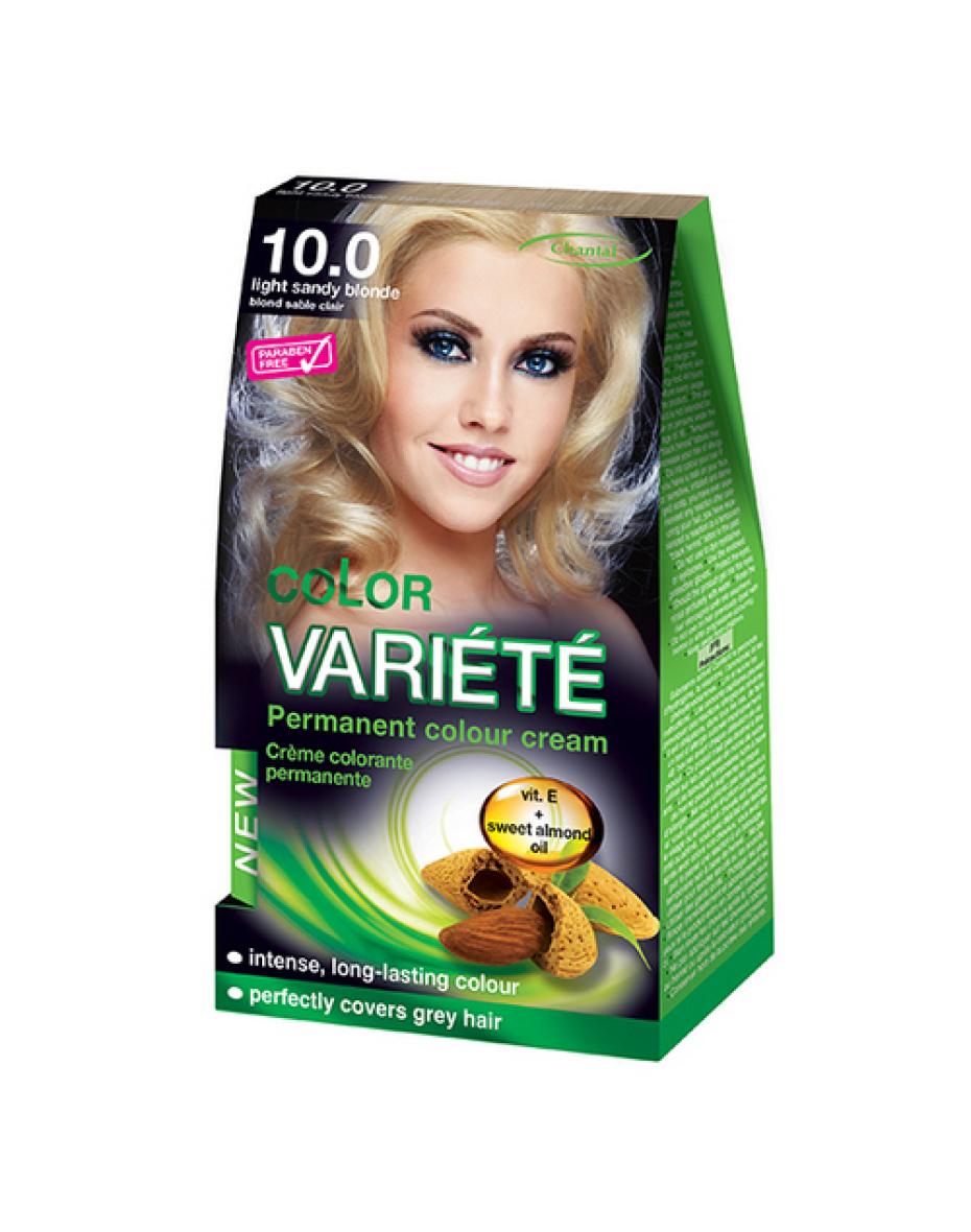 Краска для волос 10.0 Світло-пісочний блондин Variete