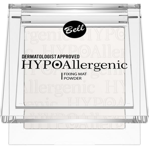 Пудра фиксирующая Hypo Allergenic 9г Bell