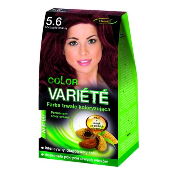 Краска для волос 5.6 Сочная вишня Variete
