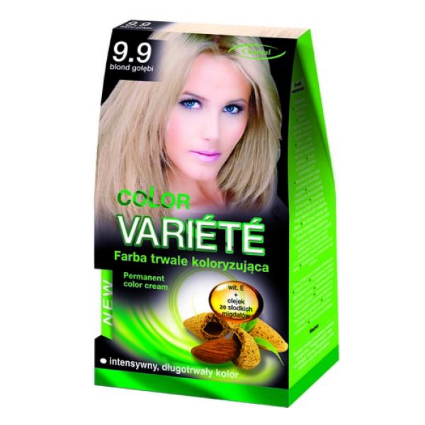 Краска для волос 9.9 Сизо-голубой Variete