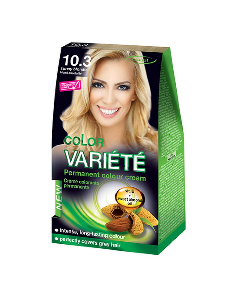 Краска для волос 10.3 Солнечный блондин Variete