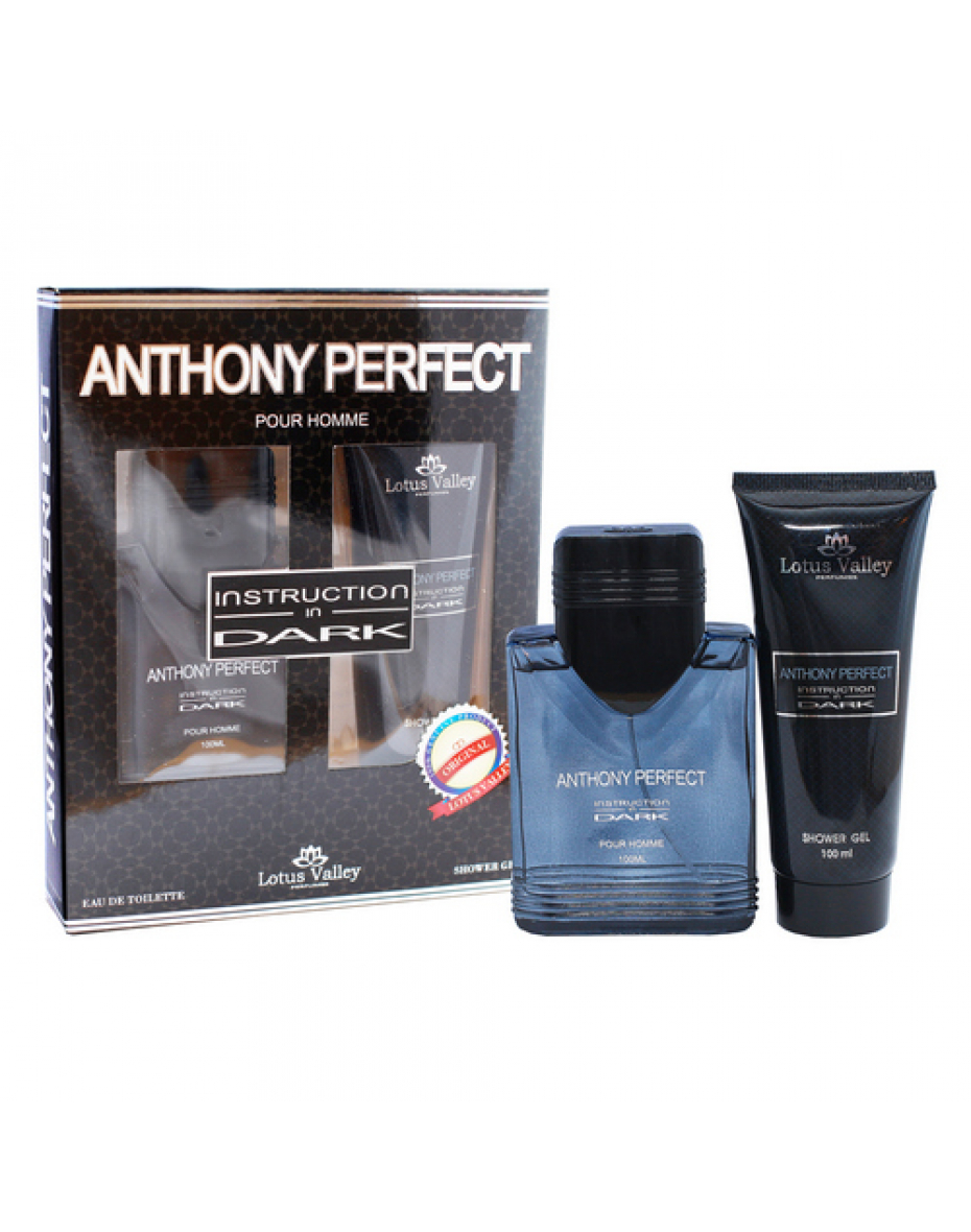 Anthony Perfect Instruction in Dark Lotus Valley - парфюмерный набор мужской