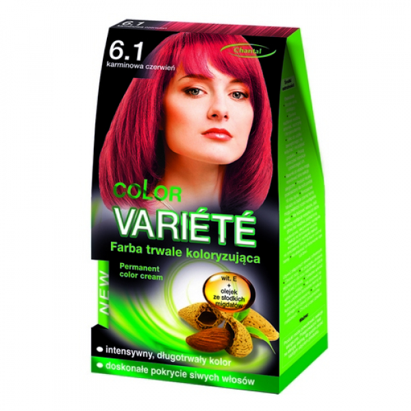 Краска для волос 6.1 Кармин Variete