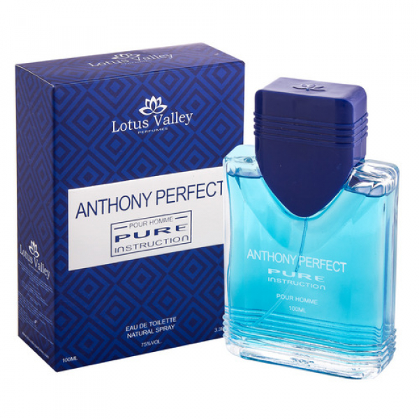 Anthony Perfect Pure Instruction Lotus Valley - туалетная вода мужская