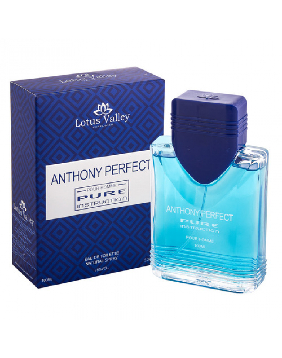 Anthony Perfect Pure Instruction 100мл т/в муж Lotus Valley