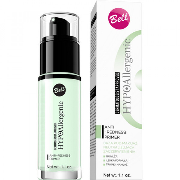 База под макияж Anti-Redness Hypo Allergenic 30г Bell