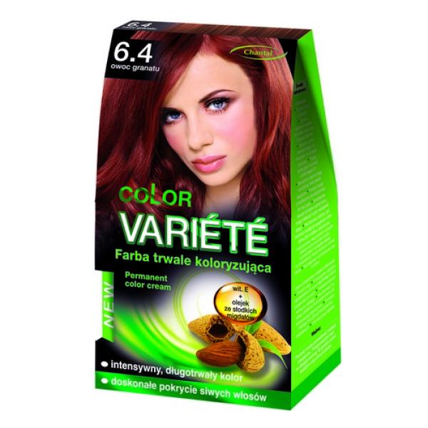 Краска для волос 6.4 Гранат Variete