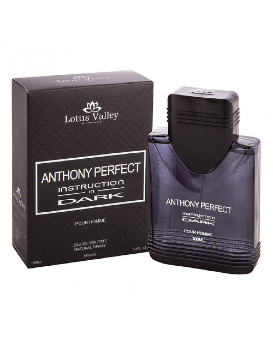Anthony Perfect Instruction In Dark 100мл т/в муж Lotus Valley