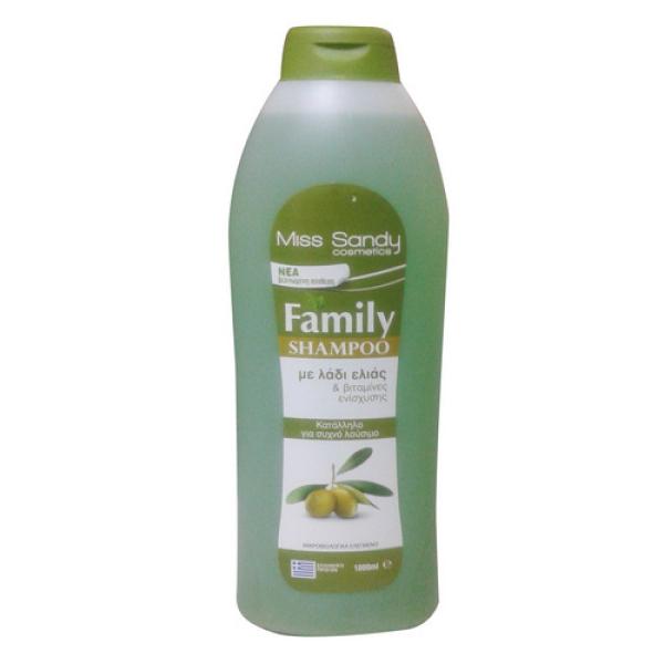Шампунь с оливковым маслом 1л Miss Sandy