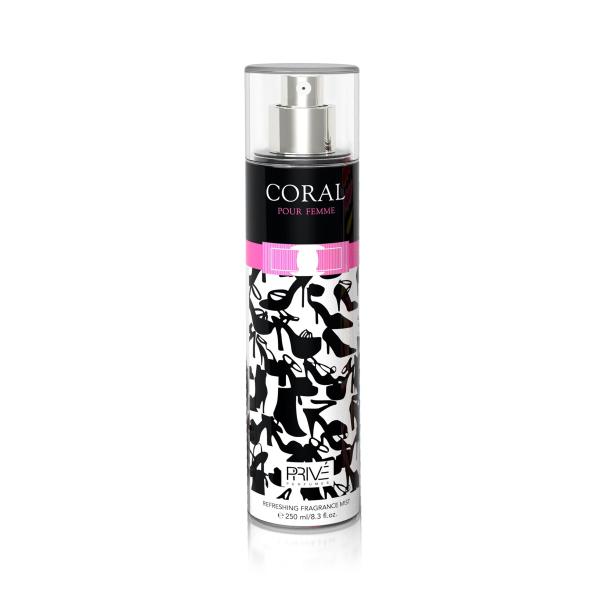 Coral Prive - спрей для тіла жіночий