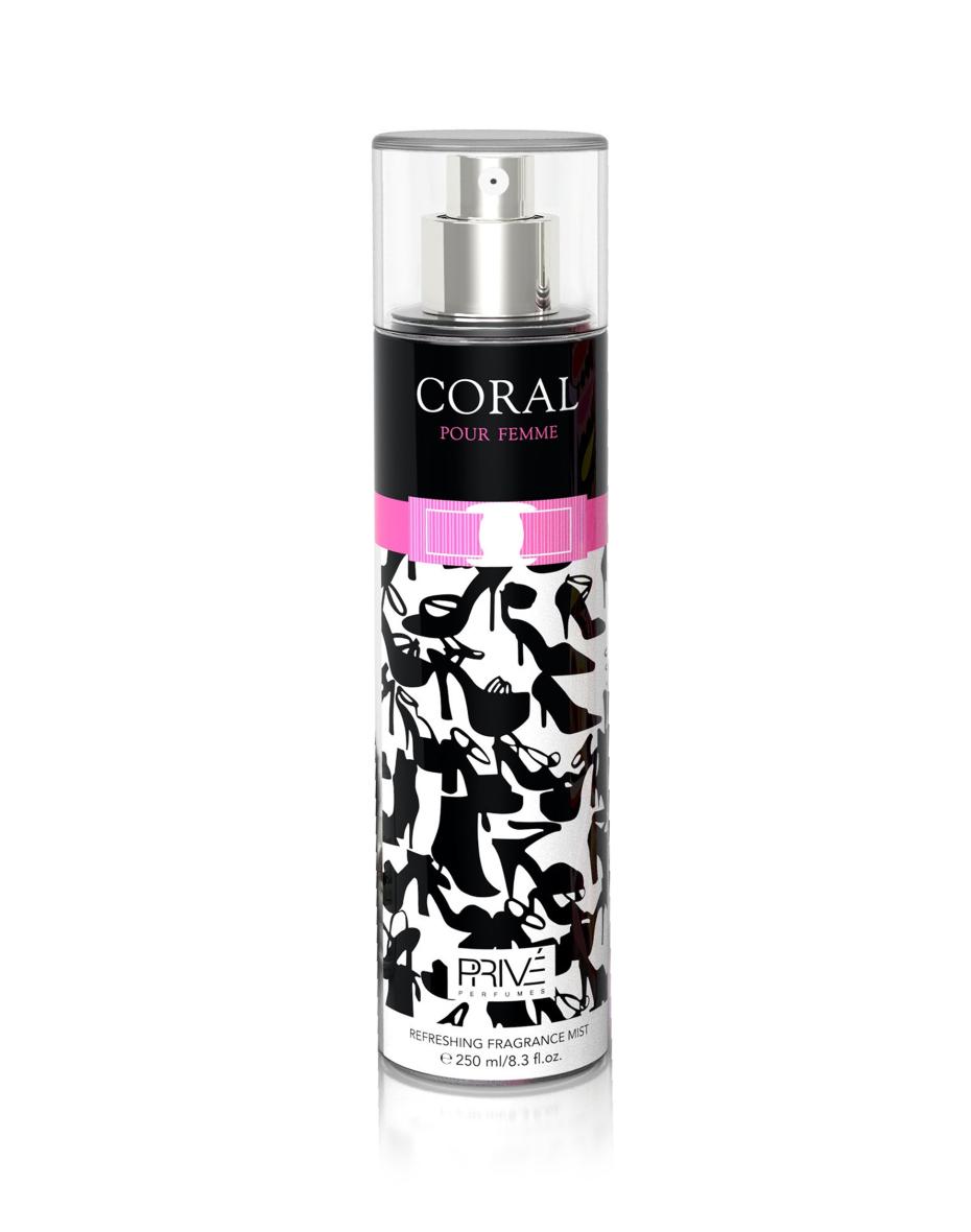 Coral Prive - спрей для тела женский