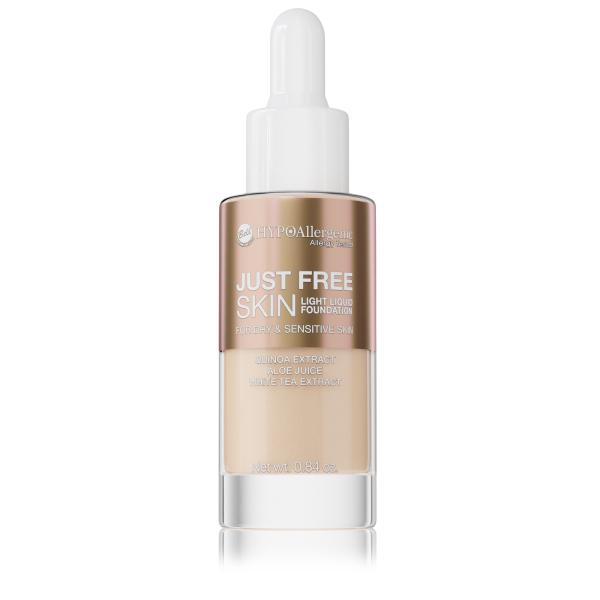 Флюїд Just Free Skin Light Foundation 03 Hypo Allergenic Bell