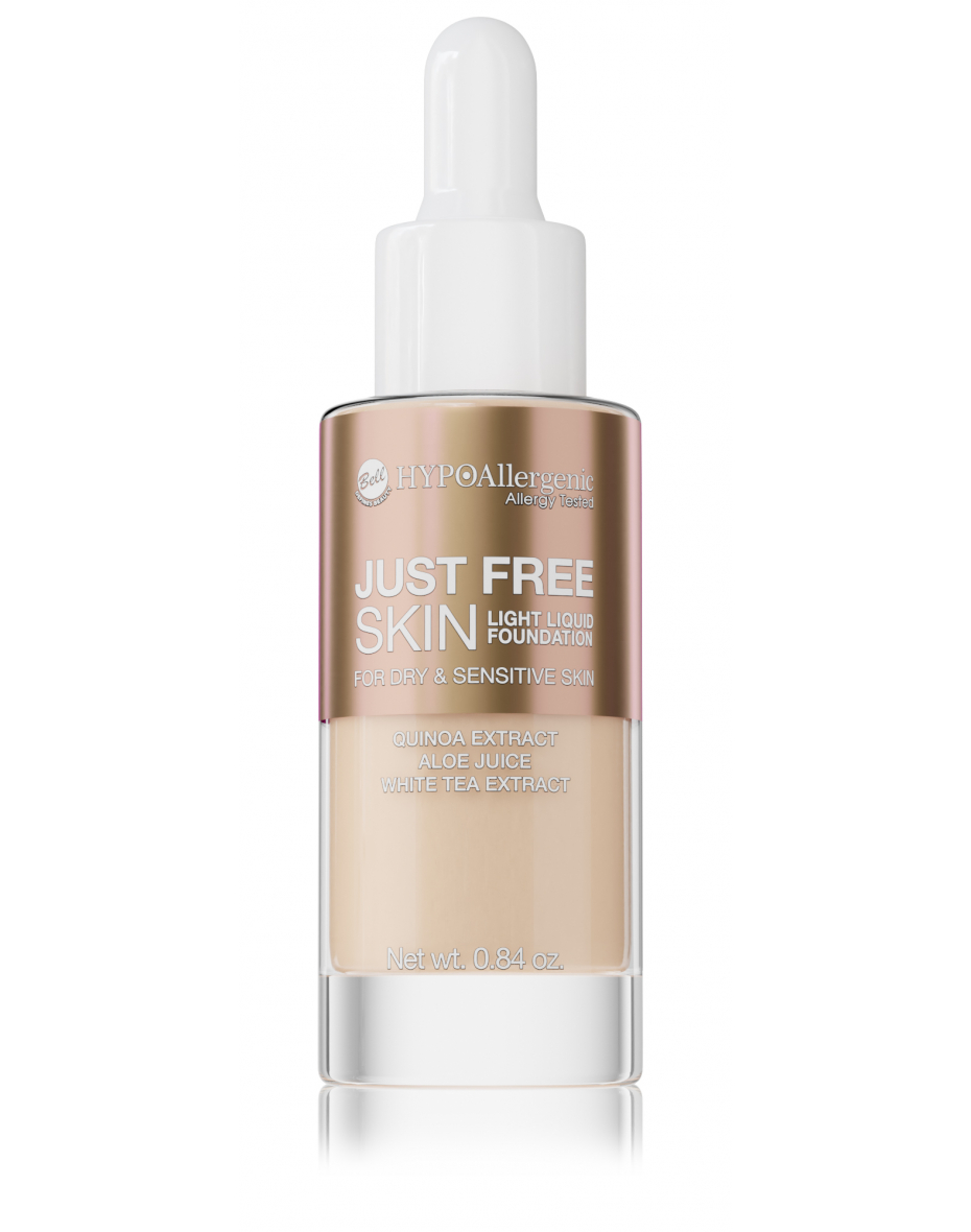 Флюїд Just Free Skin Light Foundation 03 Hypo Allergenic Bell