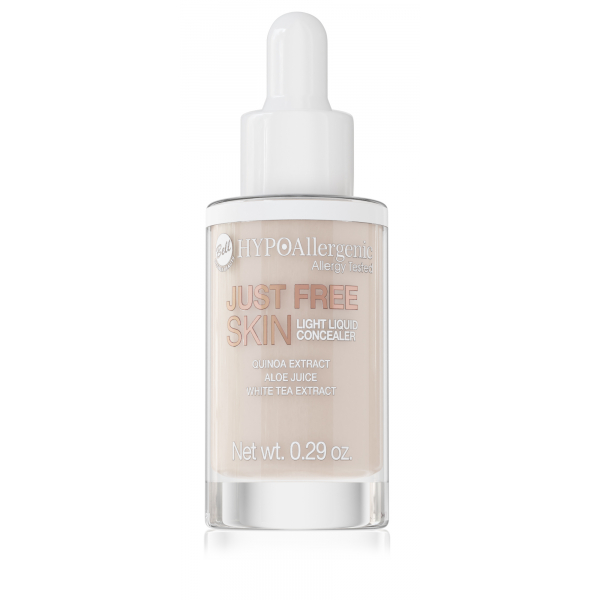 Консилер для очей рідкий Just Free Liquid Concealer 02 Hypo Allergenic Bell