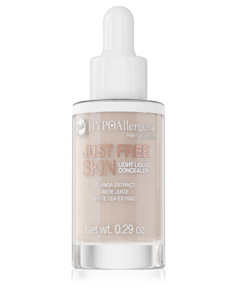 Консилер для очей рідкий Just Free Liquid Concealer 03 Hypo Allergenic Bell