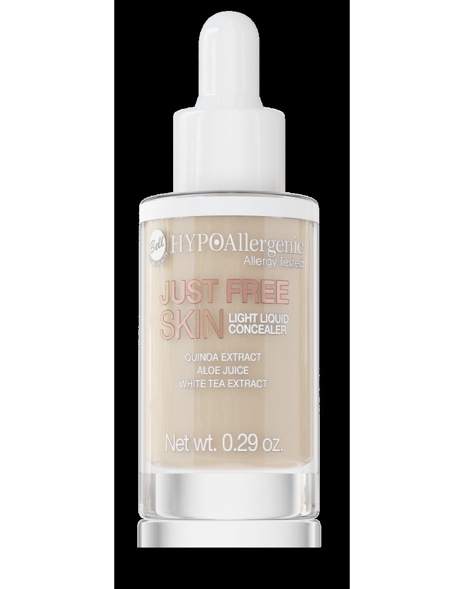Консилер для очей рідкий Just Free Liquid Concealer 04 Hypo Allergenic Bell