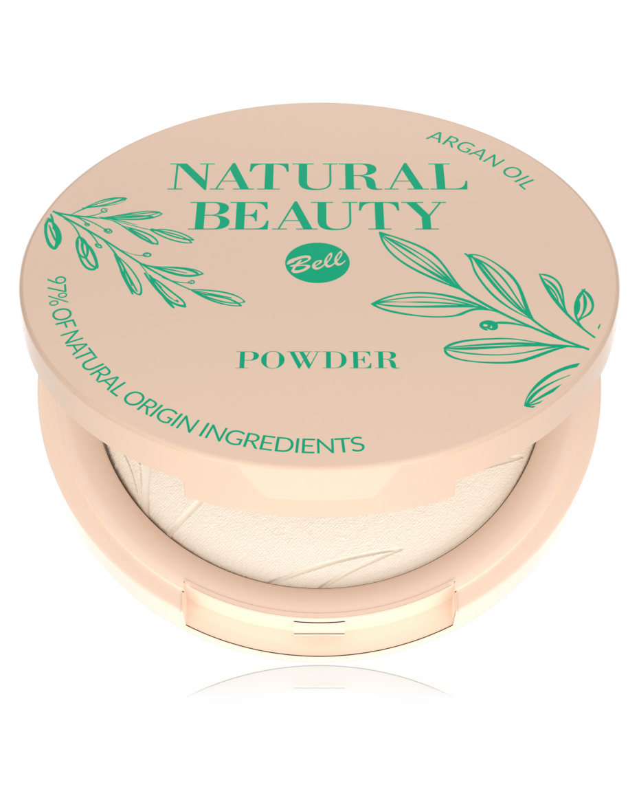 Пудра пресована Natural Beauty 01 Bell