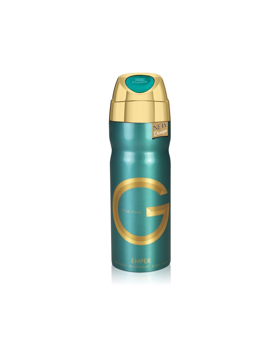 G pour femme - дезодорант жіночий