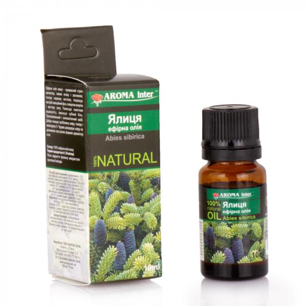 Ефірна олія ялиці 10 мл Aroma Inter