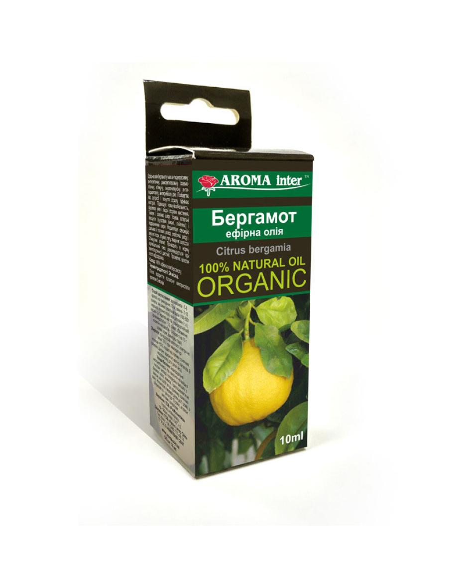 Ефірна олія Бергамот 10 мл Aroma Inter